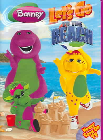 barney let 39 s go to the beach by barney dvd. Black Bedroom Furniture Sets. Home Design Ideas